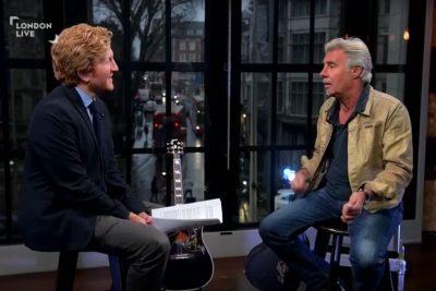 Glen Matlock talks to London Live's Luke Blackall