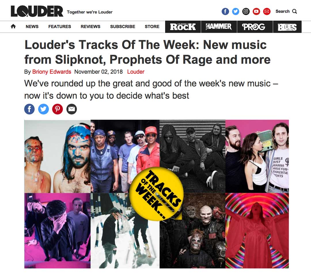 Louder - Tracks Of The Week - Black Lime