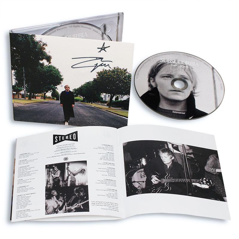 Dan Lyons - SubSuburbia CD (signed)