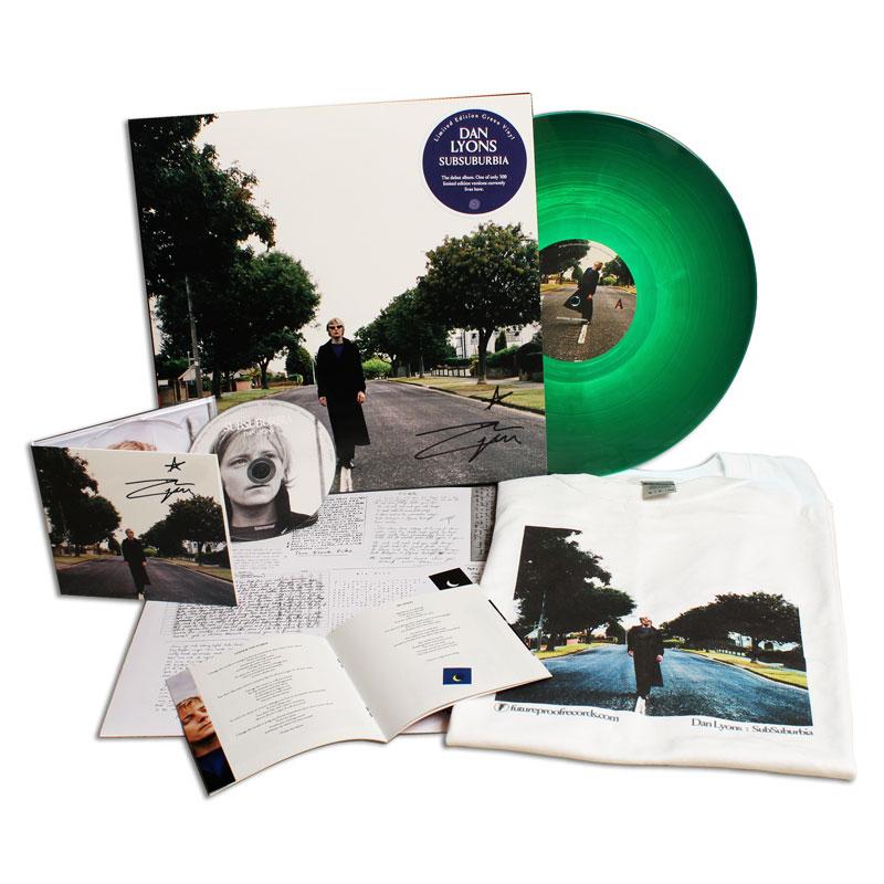 Dan Lyons - SubSuburbia CD & Vinyl + FREE T-Shirt