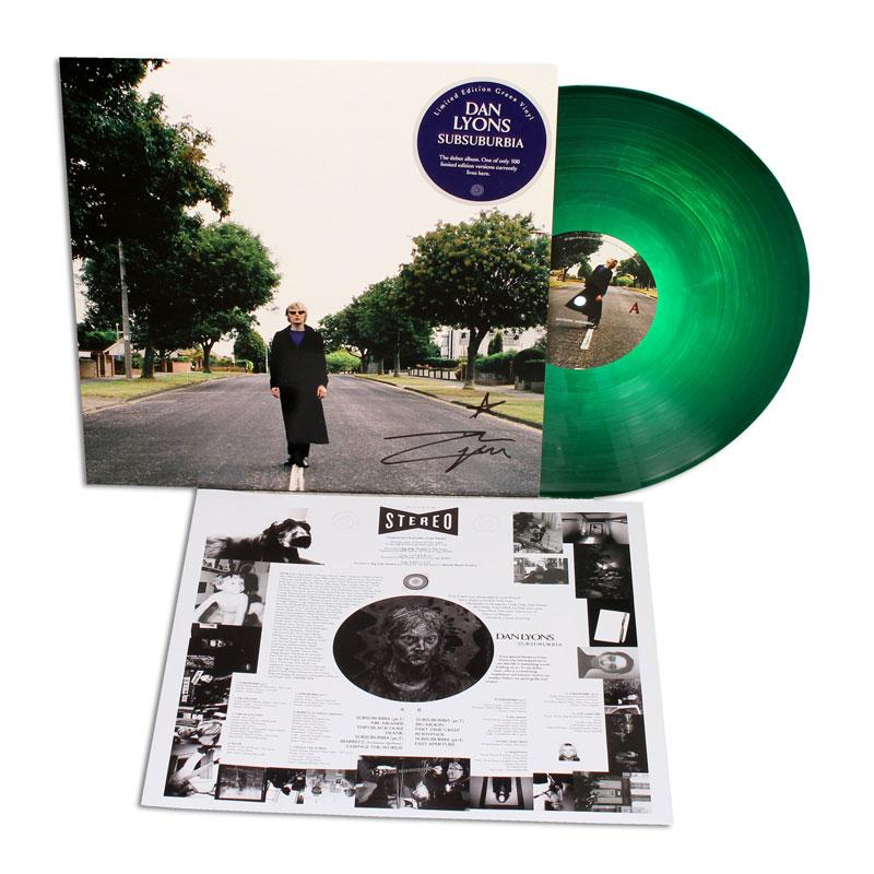 Dan Lyons - SubSuburbia Green Vinyl (signed)